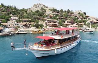 Kaş Kekova Tekne Turu ( Paylaşımlı Limandan hareketli )