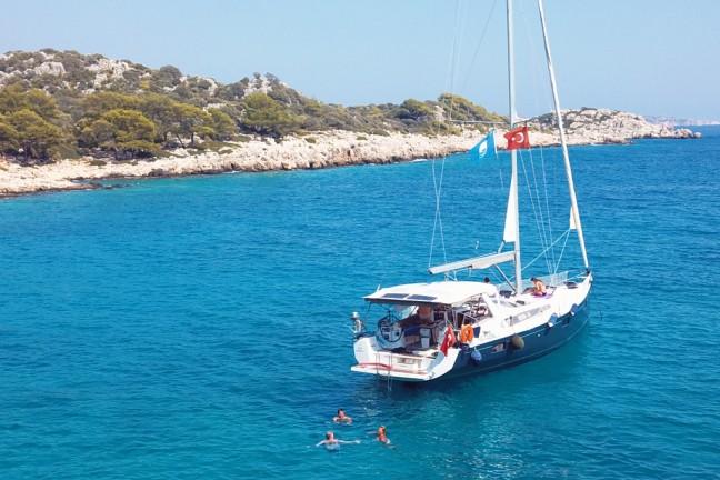 Kaş Adalar Özel Tekne Turu