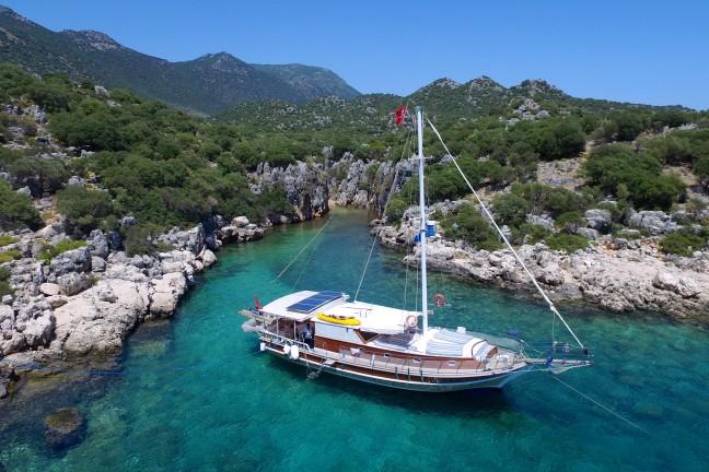 Kaş - Kekova Konaklamalı Tekne Turları