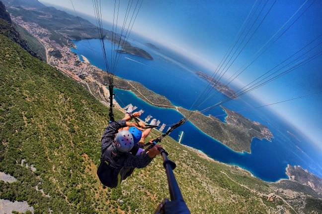 Kaş Yamaç Paraşütü - Kaş Paragliding