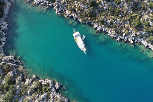 Karadan Kekova Tekne Turu (Paylaşımlı Üçağız Köyünden)