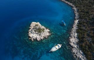 Paylaşımlı Kaş Adalar Tekne Turu