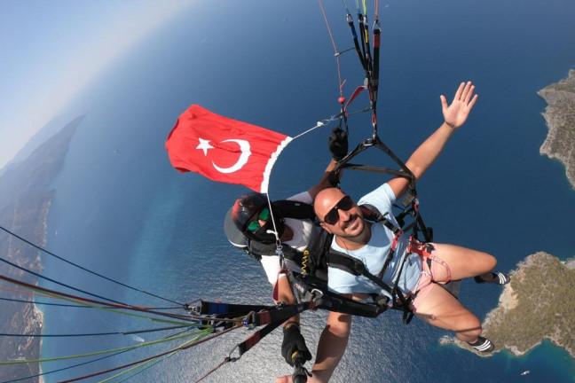 Fethiye Yamaç Paraşütü - Oludeniz Paragliding