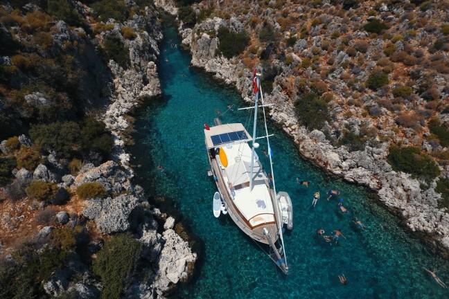 Özel Kaş Çıkışlı Üçağız Köyünden Kekova Tekne Turu