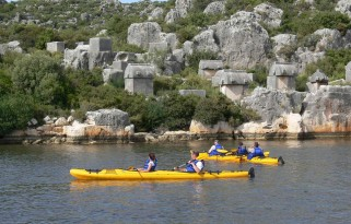 Kekova Deniz Kanosu Turu - Sea Kayaking Sunken City