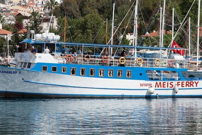 Meis Farklı Gün Dönüşlü Feribot Bileti