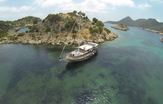 Kaş'da Şnorkel ve Tekne Turu