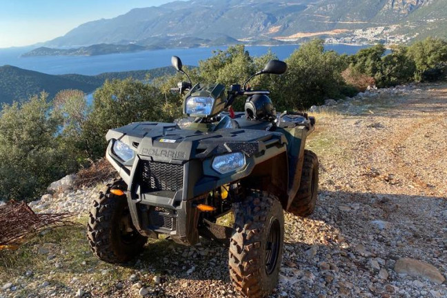 Kaş Polaris ATV Kiralama, ATV Rental in Kas