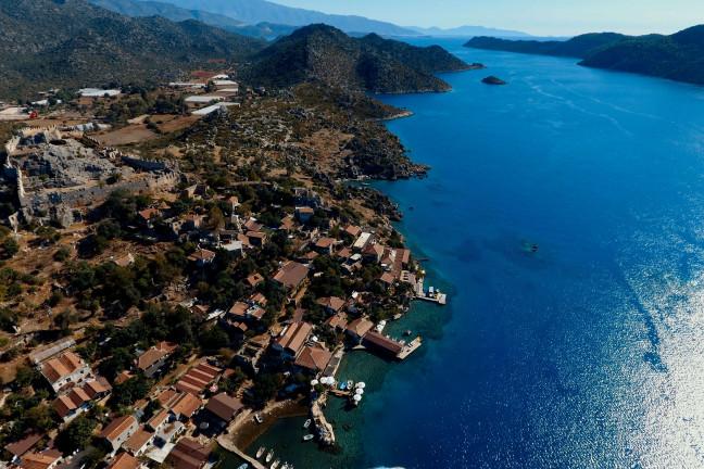Olimpos'tan Fethiye'ye Paylaşımlı 4 Günlük Tekne Turu