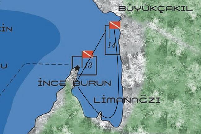 Kaş Büyük Çakıl Plajından Kano